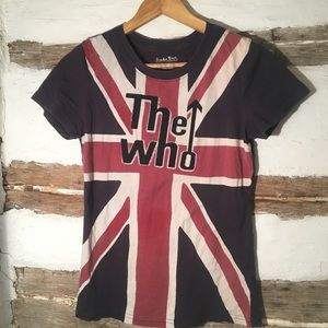 The Who Band T-shirt Lucky Brand Small music tee